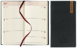 Santiago Pocket Diary - Week To View Portrait - Cream Paper