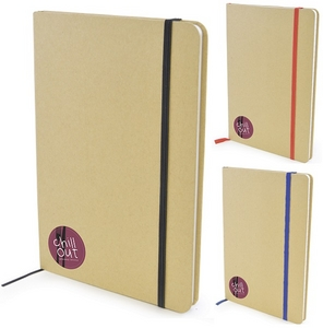 A5 Natural recycled notepad